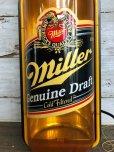画像8: 80s Miller Beer Genuine Draft Cold Filtered Neon Sign (J361)
