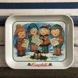 画像1: Vintage Campbell Soup Kids Carolers Tray (J374) (1)