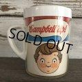 Vintage Campbell Soup Kids Plastic Mug (J371)