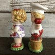 画像4: Vintage Campbell Soup Kids Salt & Pepper Statue (J369)