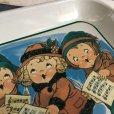 画像5: Vintage Campbell Soup Kids Carolers Tray (J374)