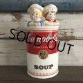 Vintage Campbell Soup Kids Kitchen Utensil Caddy (J367)