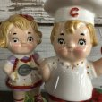 画像7: Vintage Campbell Soup Kids Salt & Pepper Statue (J369)