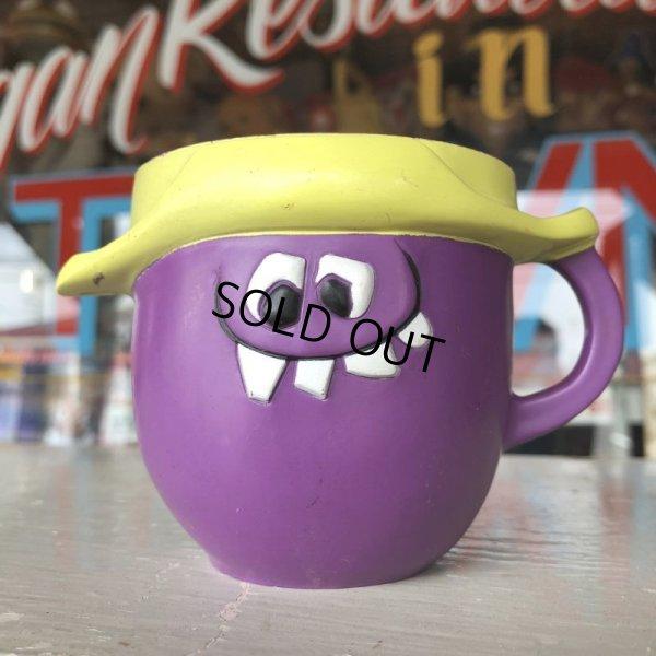 画像1: 60s Vintage Funny Face mug  Goofy Grape (J387)