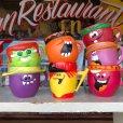 画像6: 70s Vintage Funny Face mug With It Watermelon (J384)