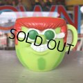 70s Vintage Funny Face mug With It Watermelon (J384)