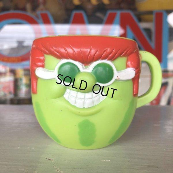 画像1: 70s Vintage Funny Face mug With It Watermelon (J384)