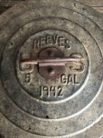 画像6: 40s Vintage PEEVES US 5GAL Industrial Metal Can (J393) (6)