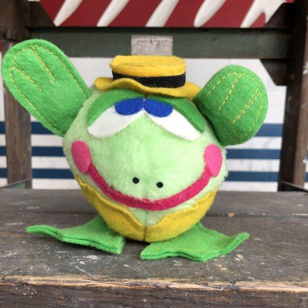 画像1: 70s Vintage Dudley's Easter Pals Tedley Toad (J398)