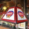 画像10: Vintage Genesee Beer Square Hanging Bar Light (J401)