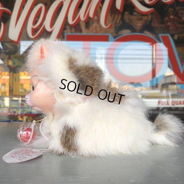 画像2: Vintage Kitty Cat Genuine Fur Boudoir Pets (J402)
