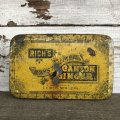 Vintage Rich's Crystallized Canton Ginger Early 1900's Tin (J414)