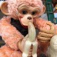 画像8: Vintage Rushton Pink Zippy the Monkey Doll (J417)