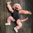 画像10: Vintage Rushton Pink Zippy the Monkey Doll (J417)