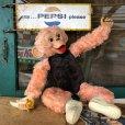 画像2: Vintage Rushton Pink Zippy the Monkey Doll (J417) (2)