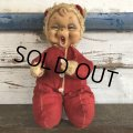 Vintage Rubber Face Doll Sleepy Kitty Cat (J421)