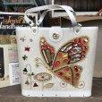 画像2: 60s Vintage Jewel Tone Handbag No.906 BUTTERFLY (J433) (2)