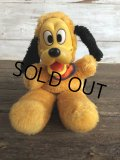 Vintage Disney Pluto Rubber Face Doll (J438)