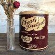 画像1: Vintage Charles Pretzels Tin Can (J447) (1)