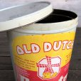画像9: Vintage Old Dutch Potatochips Tin Can (J455) (9)