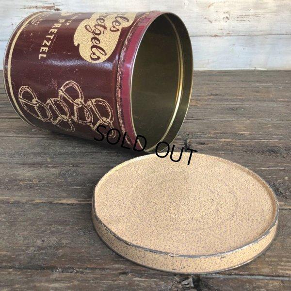 画像2: Vintage Charles Pretzels Tin Can (J447)