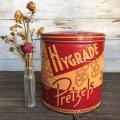 Vintage HYGRADE Pretzel  Tin Can (J456)