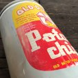 画像6: Vintage Old Dutch Potatochips Tin Can (J455) (6)