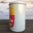 画像4: Vintage Old Dutch Potatochips Tin Can (J455) (4)