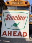画像1: Vintage Sinclair Gasoline Dino Huge Sign (J463) (1)