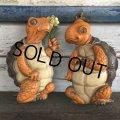 70s Vintage Turtles Wall Deco Set (J687)