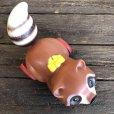 画像9: Vintage Fisher Price Pull Toy Raccoon (J696)