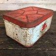 画像3: Vintage Bread Box Tin Rose (J694)