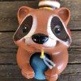 画像8: Vintage Fisher Price Pull Toy Raccoon (J696)