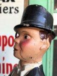 画像8: 40s Vintage Charlie McCarthy Composition Statue (J707)