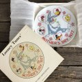 70s Vintage Bugs Bunny 1977 Mothers's Day Plate (J700)