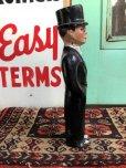 画像2: 40s Vintage Charlie McCarthy Composition Statue (J707) (2)