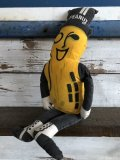 Vintage Mr Peanut Pillow Doll (J721)