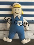 Vintage Advertising Jack Frost Pillow Doll (J720)