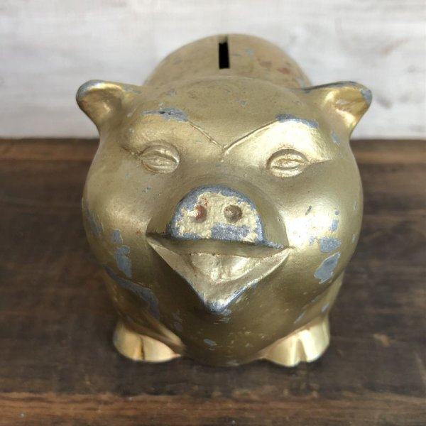 画像1: Vintage Advertising Piggy Bank (J732)