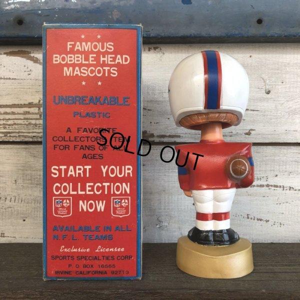 画像2: Vintage NFL Bobble Head Mascots New England Patriots (J754)