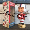 Vintage NFL Bobble Head Mascots New England Patriots (J754)