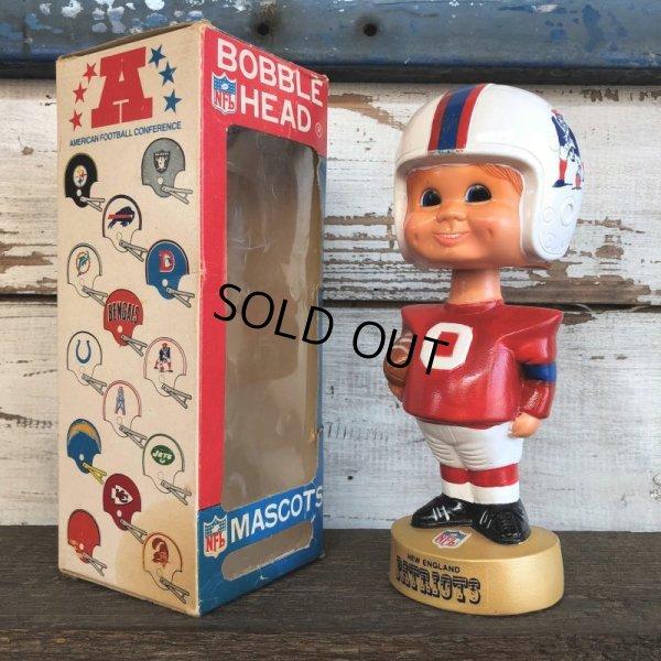 画像1: Vintage NFL Bobble Head Mascots New England Patriots (J754)