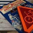画像4: 50s Vintage U.S.A Bicycle Reflector Moc (J765) (4)