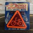 画像1: 50s Vintage U.S.A Bicycle Reflector Moc (J765) (1)