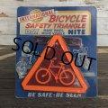 50s Vintage U.S.A Bicycle Reflector Moc (J765)