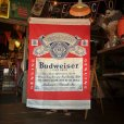 画像1: Vintage Budweiser Original Doorway Curtain Store Display (J768) (1)
