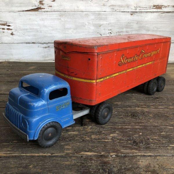 画像2: 50s Vintage Structo Transport Van Truck (J037)
