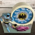 画像5: 70s Vintage Talking alarm Clock Batman & Robin (J771)