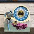 画像1: 70s Vintage Talking alarm Clock Batman & Robin (J771) (1)