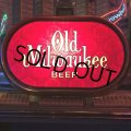 Vintage Old Milwaukee Beer BAR Lighted Display Signs (J772)